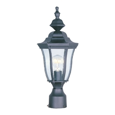 Maxim Lighting Madrona Black Post Light