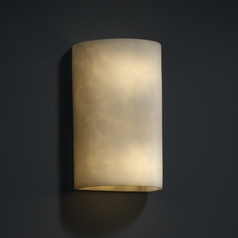 Justice Design Group Clouds Collection Outdoor Wall Light
