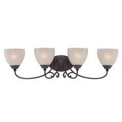Designers Fountain Tangier Natural Iron Bathroom Light