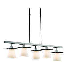 Linear Pendant Light - Five Lights