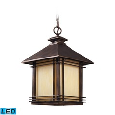 Elk Lighting Blackwell Hazlenut Bronze LED Outdoor Hanging Light