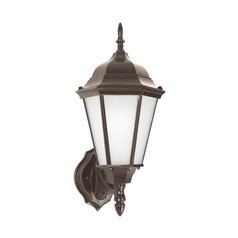 Sea Gull Lighting Bakersville Heirloom Bronze Outdoor Wall Light
