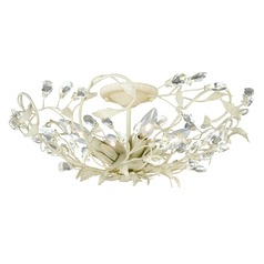Jardin French Cream Semi-Flushmount Light by Vaxcel Lighting