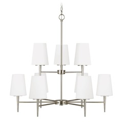 Sea Gull Lighting Driscoll Brushed Nickel LED Chandelier