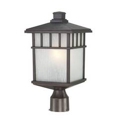 16-1/2-Inch Mission Outdoor Post Light