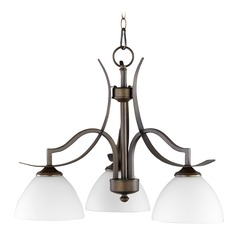 Quorum Lighting Atwood Oiled Bronze Chandelier