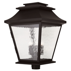 Livex Lighting Hathaway Bronze Post Light