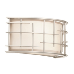 Kalco Lighting Atelier Tarnished Silver Sconce
