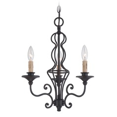 Designers Fountain Tangier Natural Iron Chandelier