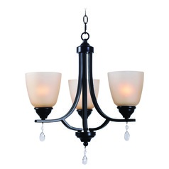 Akron Oil Rubbed Bronze Mini-Chandelier by Kenroy Home