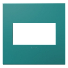 Legrand Adorne Turquoise Blue 2-Gang Switch Plate
