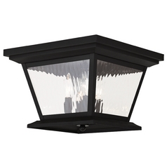 Livex Lighting Hathaway Black Close To Ceiling Light