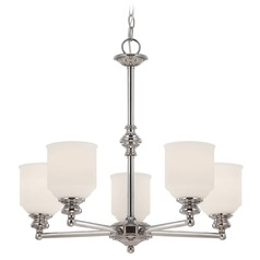 Savoy House Polished Chrome Chandelier
