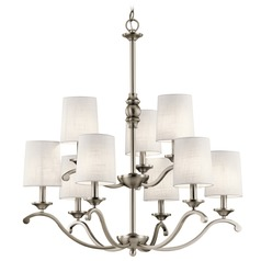Kichler Lighting Versailles Antique Pewter Chandelier