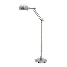 Pharmacy Lamp in Satin Nickel Finish