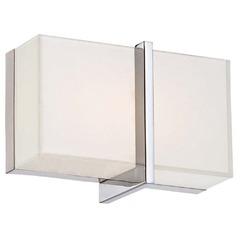 Minka Lighting High Rise Chrome Sconce