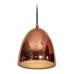 Access Lighting Essence Mini-Pendant Light with Bowl / Dome Shade