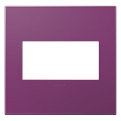 Legrand Adorne Plum 2-Gang Switch Plate