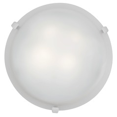 Access Lighting Mona White LED Flushmount Light