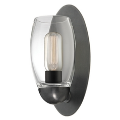 Modern Sconce Bronze Pamelia by Hudson Valley Lighting