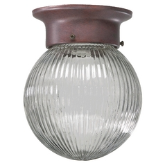 Quorum Lighting Cobblestone Flushmount Light