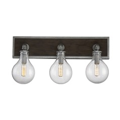 Savoy House Lighting Dansk Galvanized Metal Bathroom Light