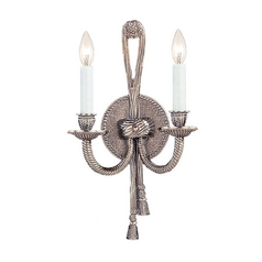 Sconce Wall Light in Pewter Finish