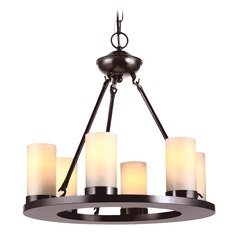 Sea Gull Lighting Ellington Burnt Sienna LED Mini-Chandelier