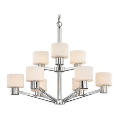 Mai Chrome Chandelier