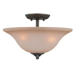 Craftmade Gatewick Century Bronze Semi-Flushmount Light