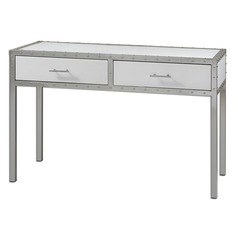 Uttermost Bryton White Console Table