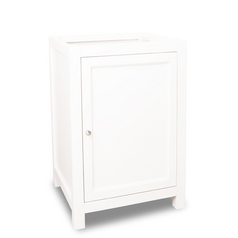 Hardware Resources Bathroom Vanity in Cream White Finish VAN091-24