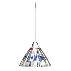 WAC Lighting European Collection Chrome LED Track Pendant