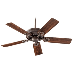 Quorum Lighting Empress Oiled Bronze Ceiling Fan Without Light
