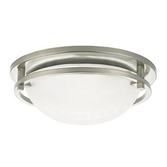 Sea Gull Lighting Eternity Brushed Nickel LED Flushmount Light