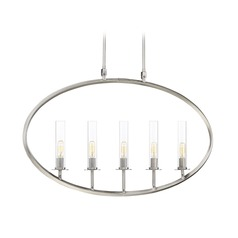 Brushed Pewter Island Light with Cylindrical Shade Hasting Collection by Savoy House