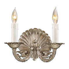 Metropolitan Lighting Metropolitan Polished Chrome Sconce