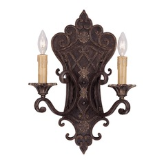 Savoy House Florencian Bronze Sconce