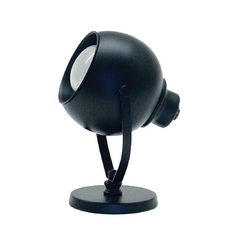 Modern Up Light Lamp in Black Finish