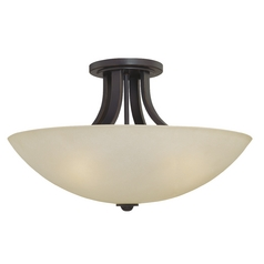 Three-Light 22-Inch Ceiling Light