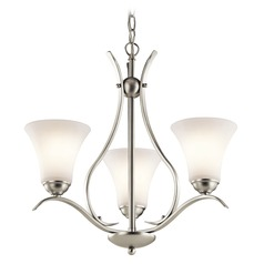 Kichler Lighting Keiran Brushed Nickel LED Mini-Chandelier