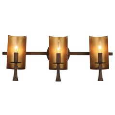Maxim Lighting Candella Chestnut Bronze / Gold Bathroom Light
