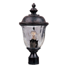 Maxim Lighting Carriage House Dc Oriental Bronze Post Light