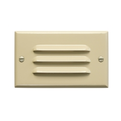 Kichler LED Recessed Step Light in Ivory Finish