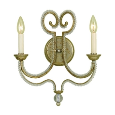 Sconce Wall Light in Gold Finish