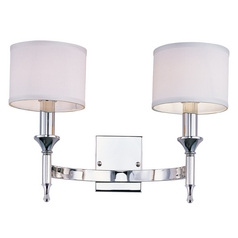 Maxim Lighting Fairmont Polished Nickel Sconce