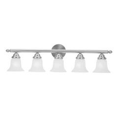 Livex Lighting Neptune Brushed Nickel Bathroom Light