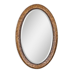 Oval 22-Inch Mirror