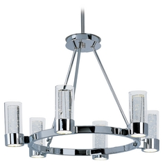 Maxim Lighting Sync Chrome LED Chandelier