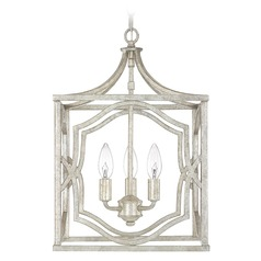 Capital Lighting Blakely Antique Silver Pendant Light